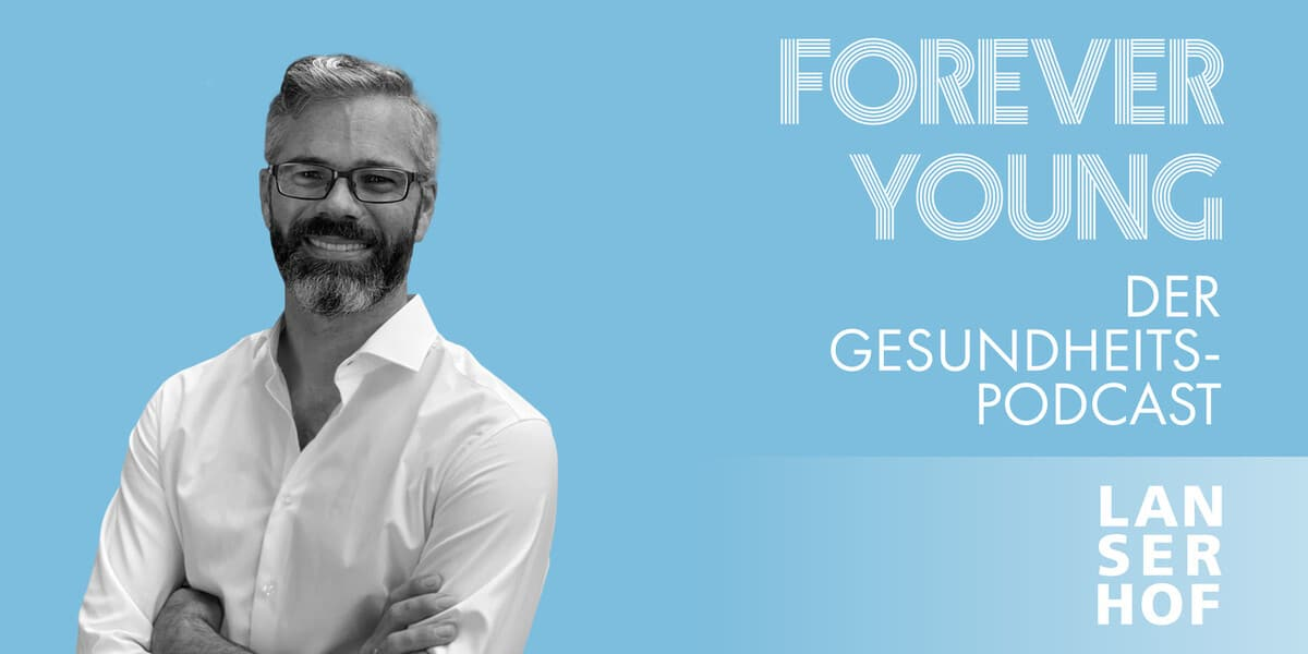 Thumbnail des Forever Young Podcasts mit Andreas Barke