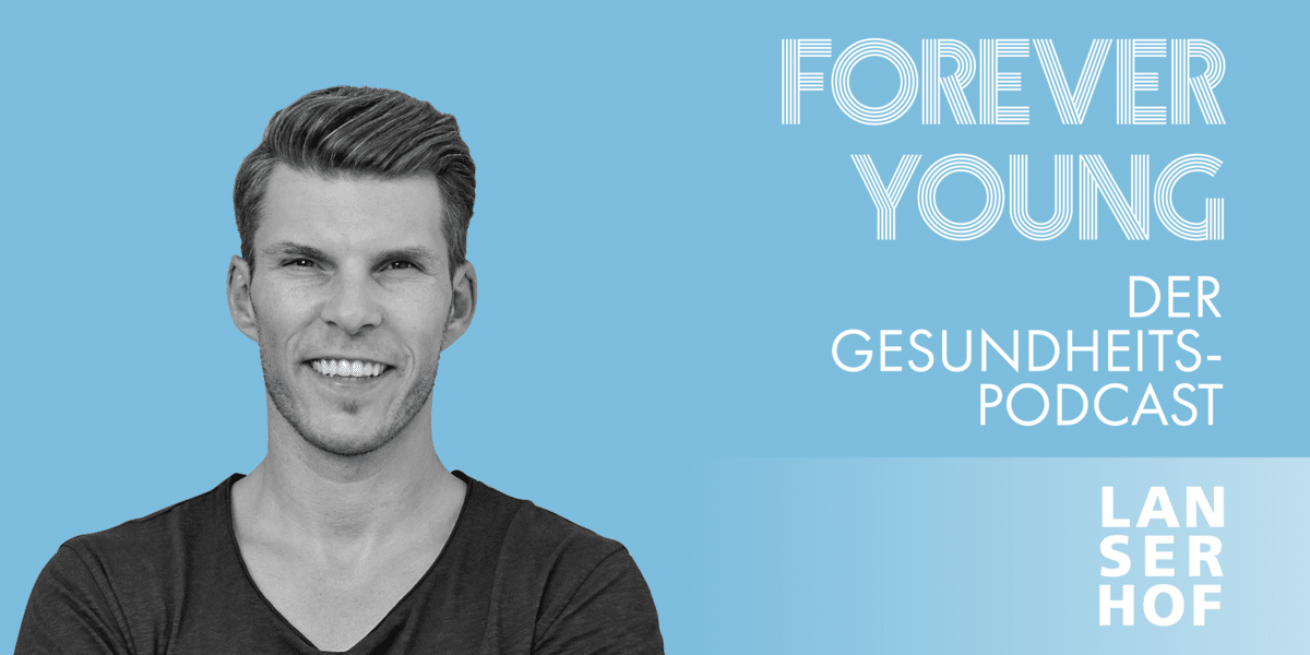Thumbnail des Forever Young Podcasts mit Florian Gschwandtner
