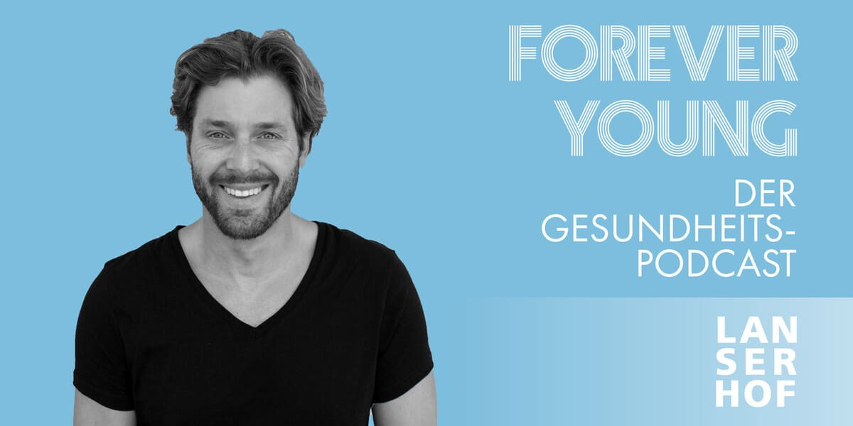 Thumbnail des Forever Young Podcasts mit Dr. Henning Jüchter