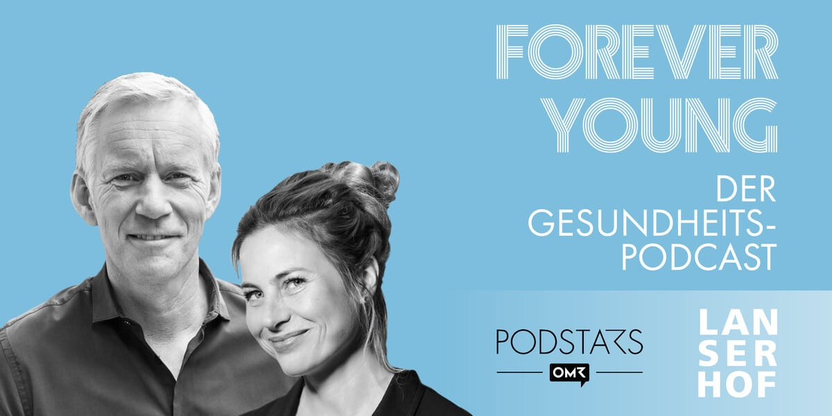 Thumbnail des Forever Young Podcasts mit Johannes B. Kerner und Yvonne Weiß
