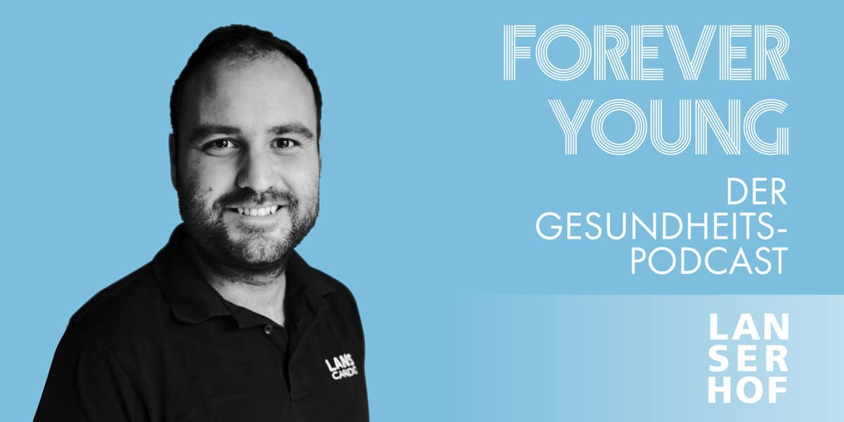 Thumbnail des Forever Young Podcasts mit Julian Schreckenberg