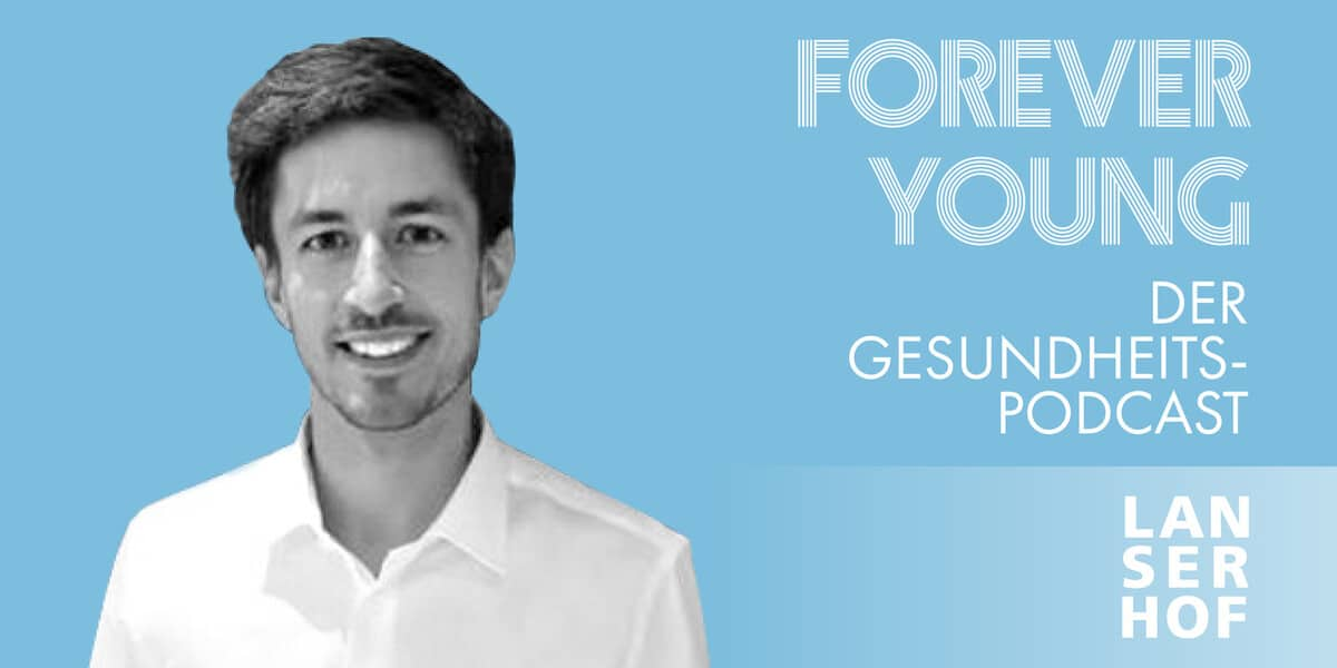 Thumbnail des Forever Young Podcasts mit Dr. Korbinian Gauß