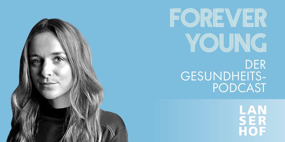 Thumbnail des Forever Young Podcasts mit Marlene von Arnim