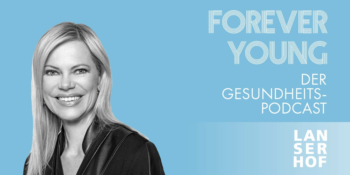 Thumbnail des Forever Young Podcasts mit Nina Ruge