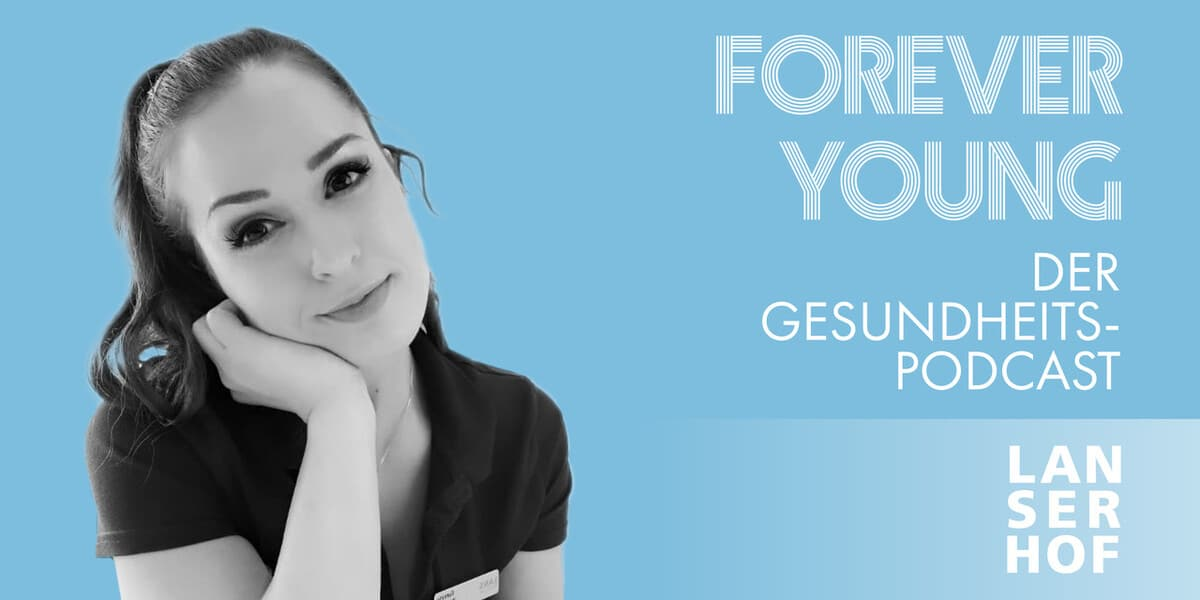 Thumbnail des Forever Young Podcasts mit Ramona Wegener