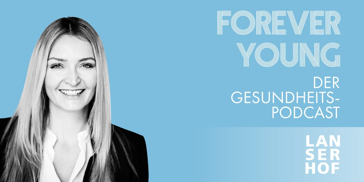 Thumbnail des Forever Young Podcasts mit Sarah Wittig
