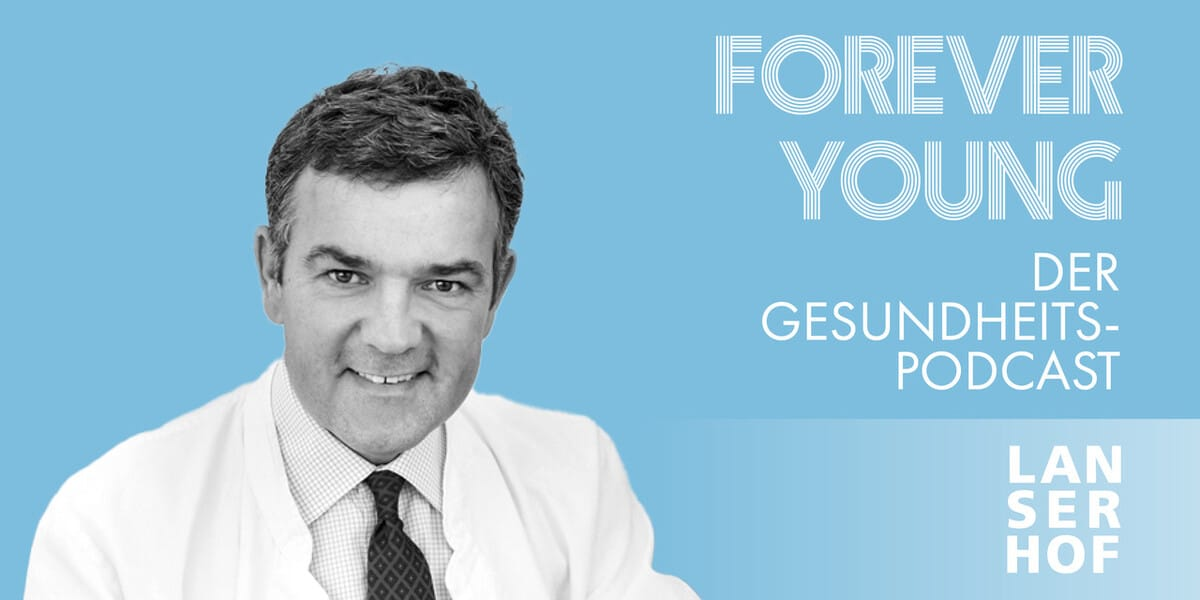 Thumbnail des Forever Young Podcasts mit Prof. Dr. med. Volker Steinkraus
