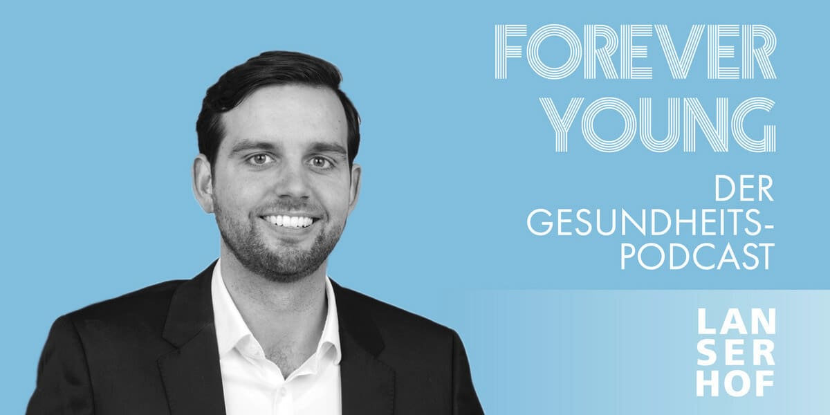 Thumbnail des Forever Young Podcasts mit Tobias Teuber