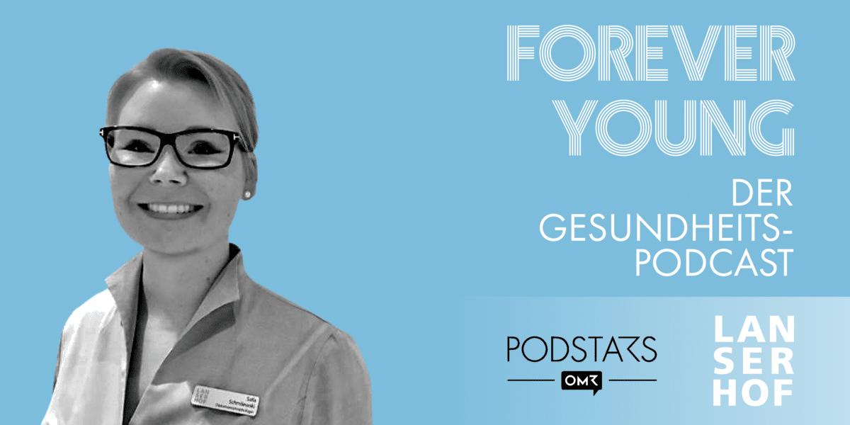 Podcastcover mit Portrait von Salla Schmilewski