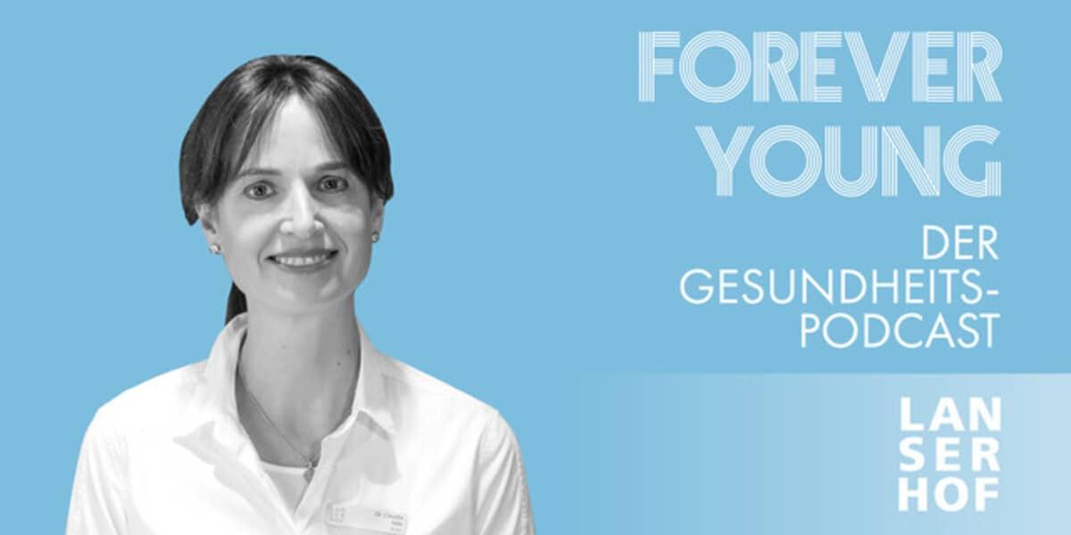 Podcastcover mit Portrait von Claudia Milz
