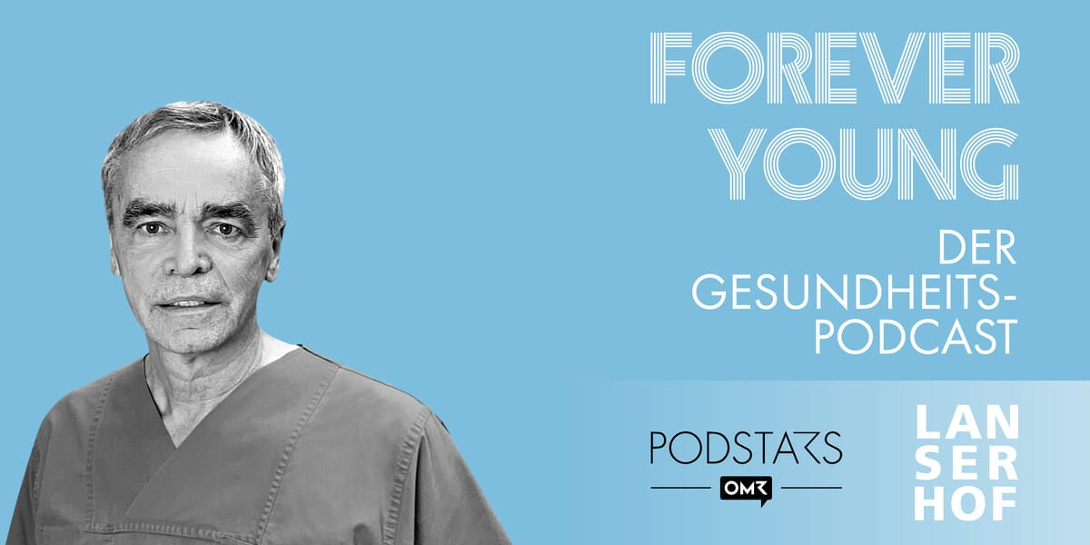 Thumbnail des Forever Young Podcasts mit Prof. Dr. Karl-Heinz Kuck