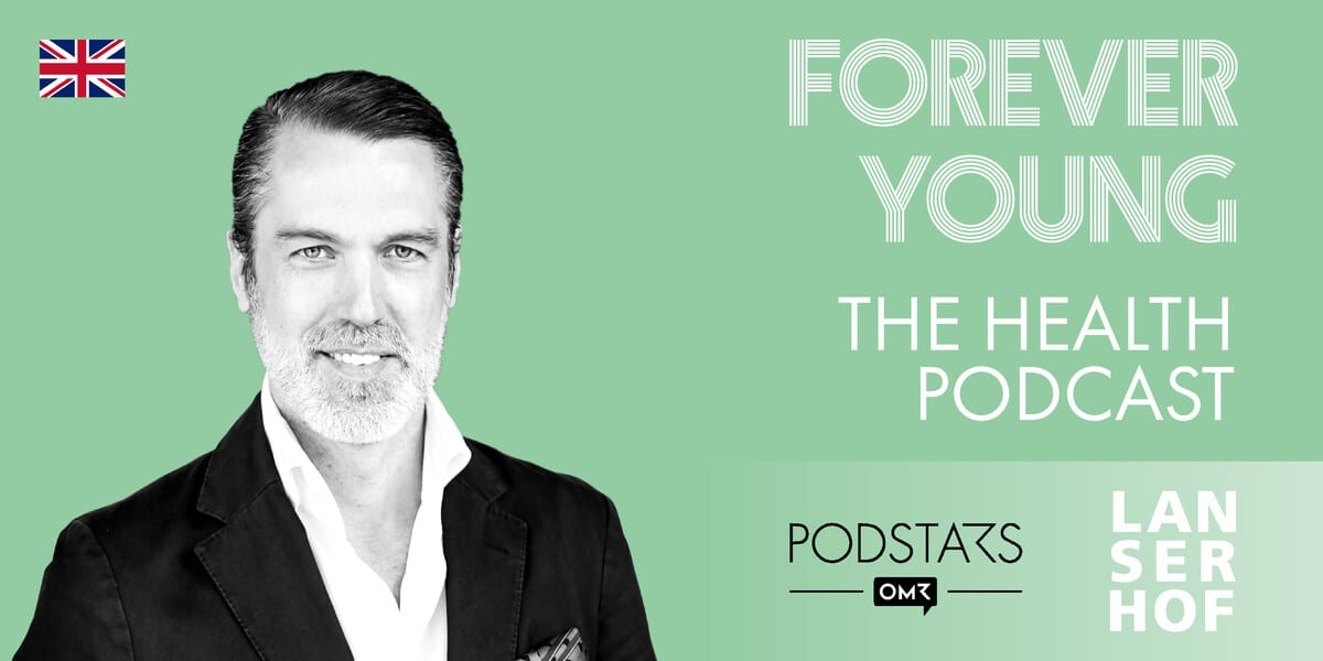 Podcastcover mit Christian Fein