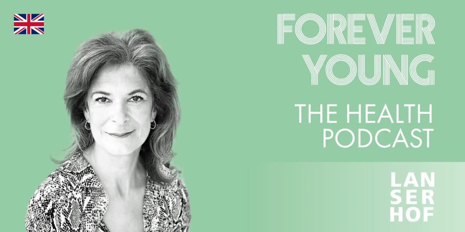 Podcastcover mit Samina Showgi