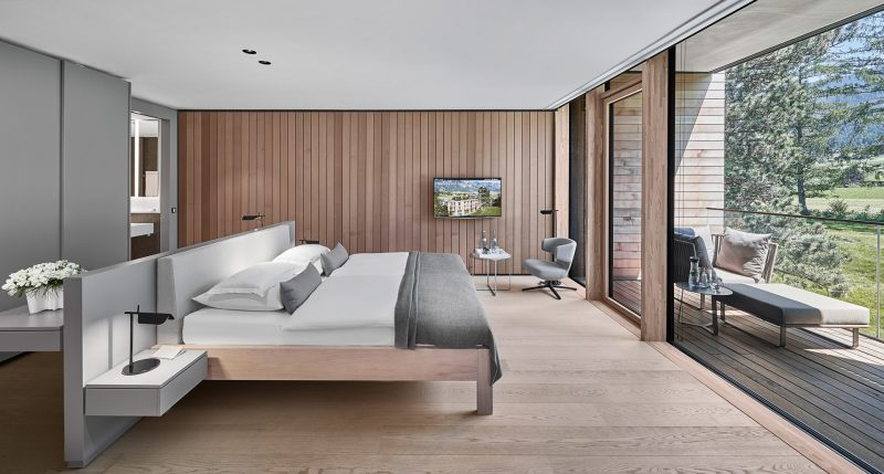 Bild der Junior Suite im Lanserhof Lans
