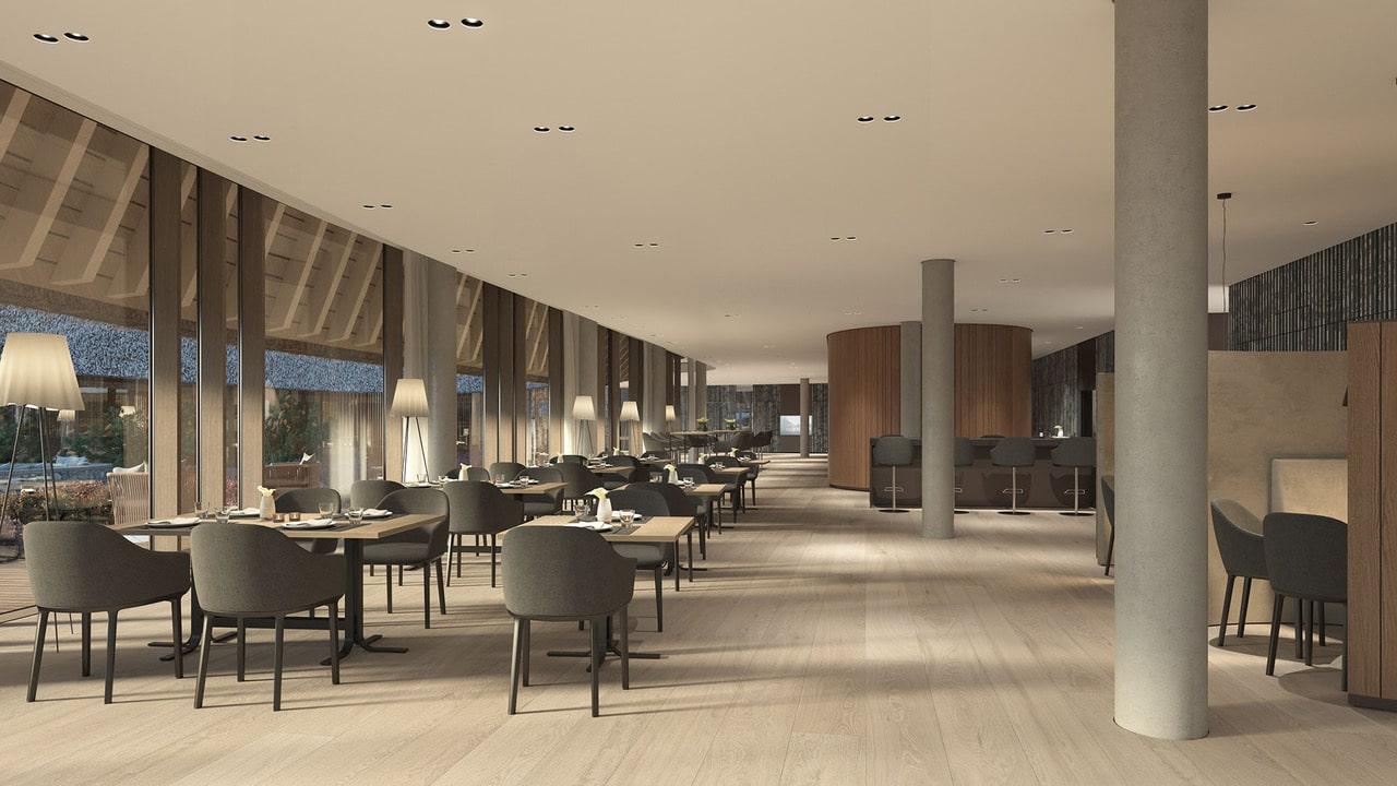 Restaurant des Lanserhof Resorts Sylt