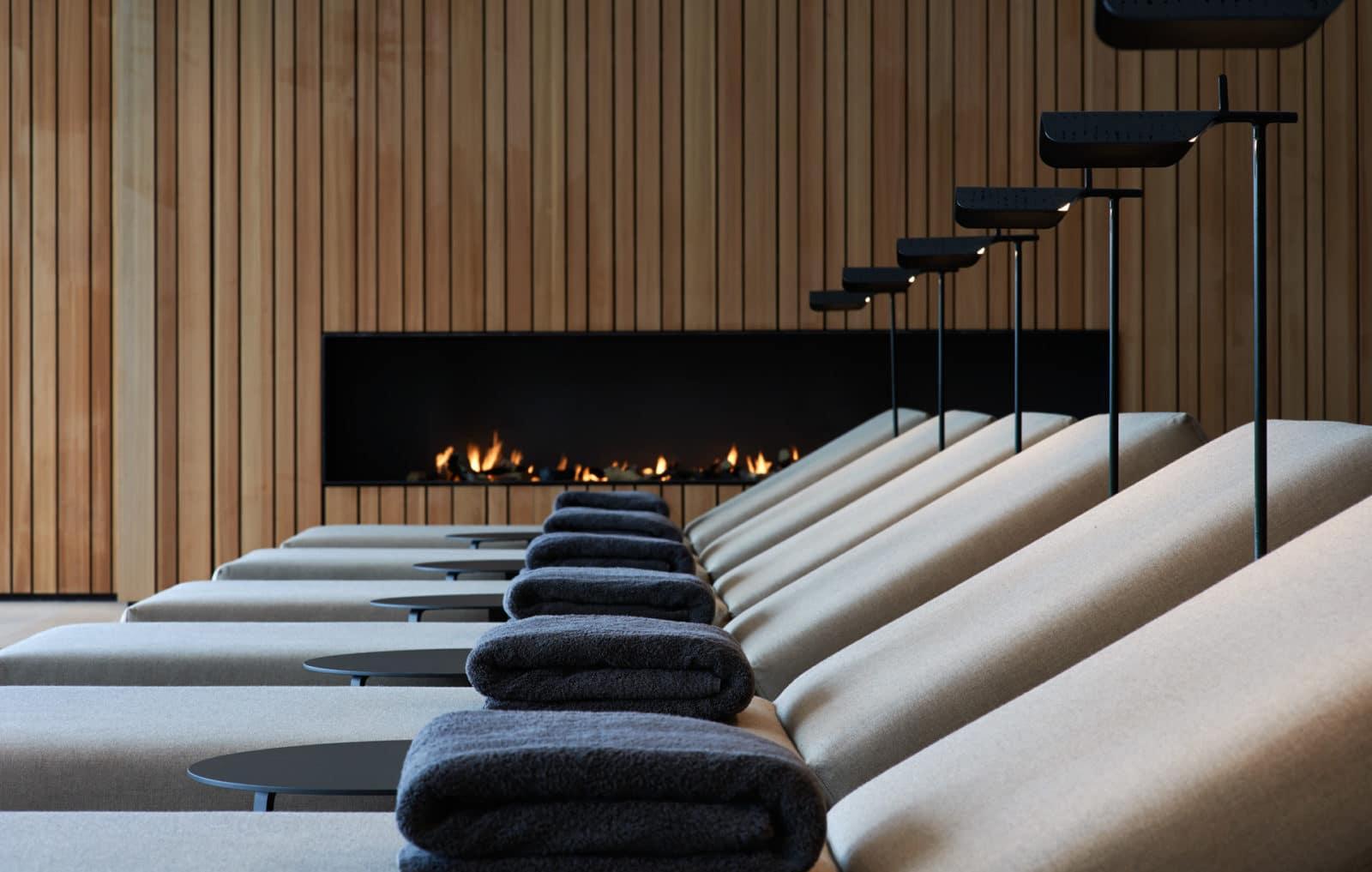 Ruhebereich des Lanserhof Resorts Tegernsee